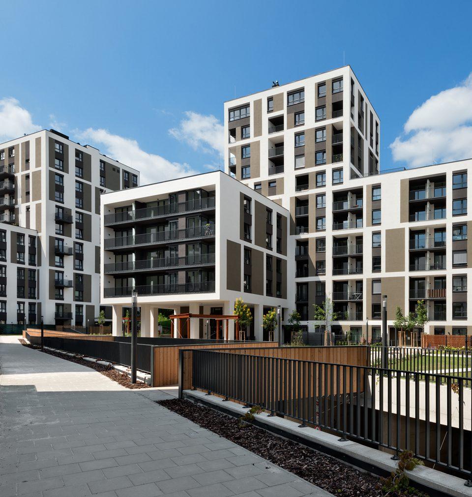 Na majitele nových bytů Na Vackově čeká komfortní, zdravé a udržitelné bydlení