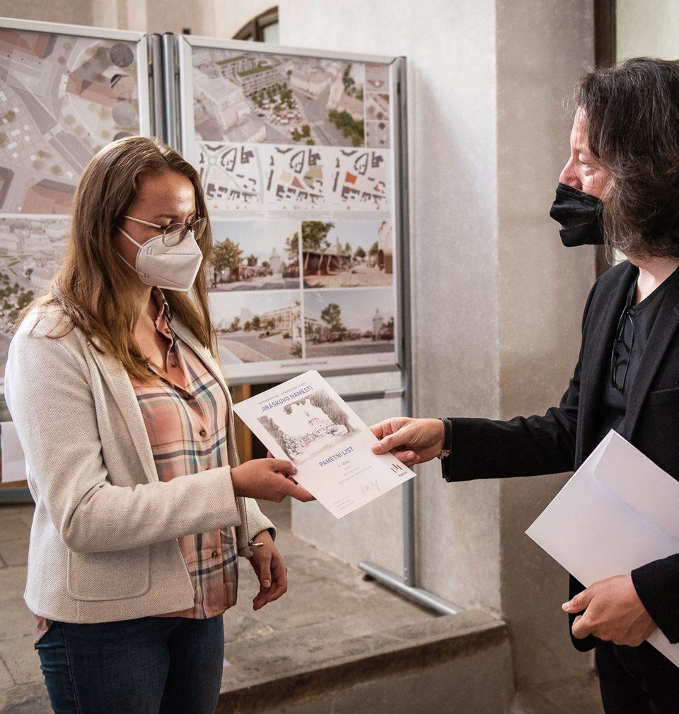 III. místo v architektonicko-urbanistické soutěži nám přinesl návrh revitalizace Jiráskova náměstí v Kolíně