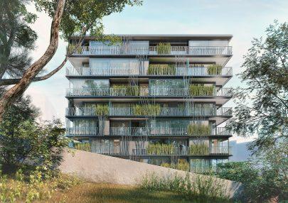 Bytový dům Nová Landhauska