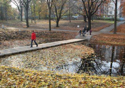 Revitalizace Městských sadů v Ústí nad Labem
