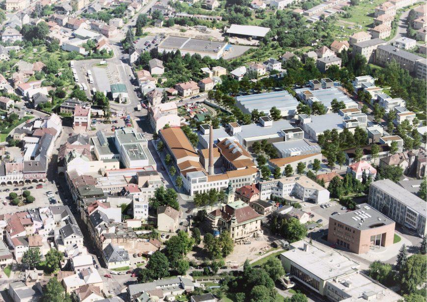 Revitalization of the Perla 01 area in Ústí nad Orlicí