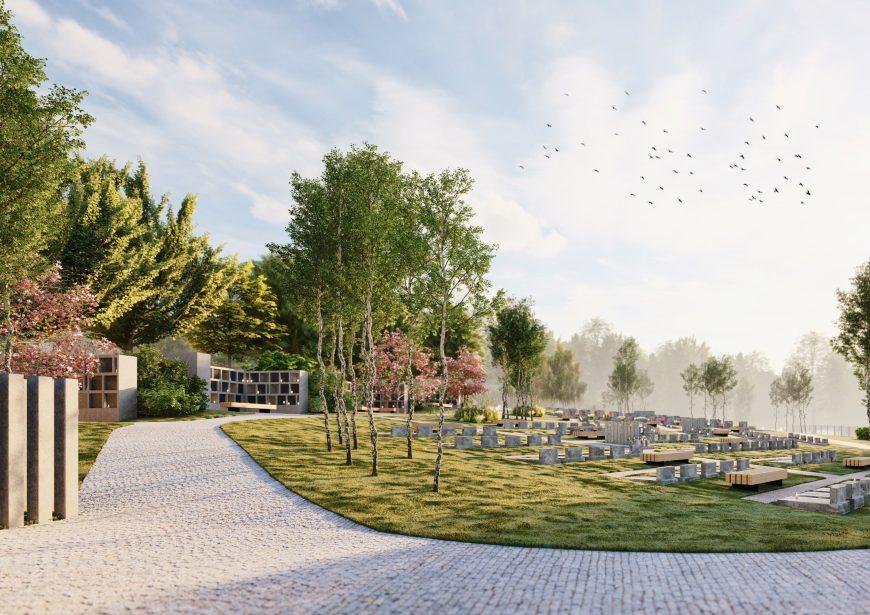 Nový hřbitov v Černošicích