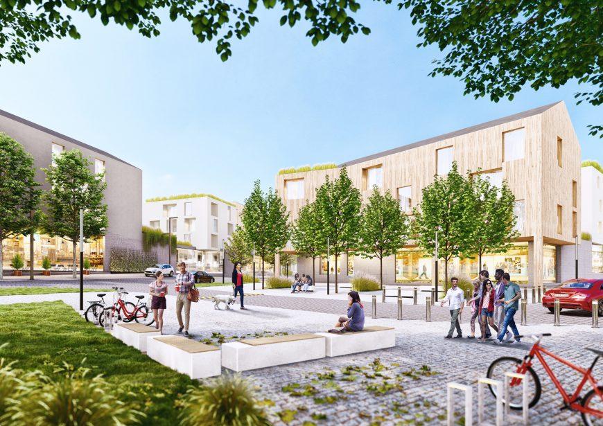 Revitalizace městské části ve Žďáru nad Sázavou