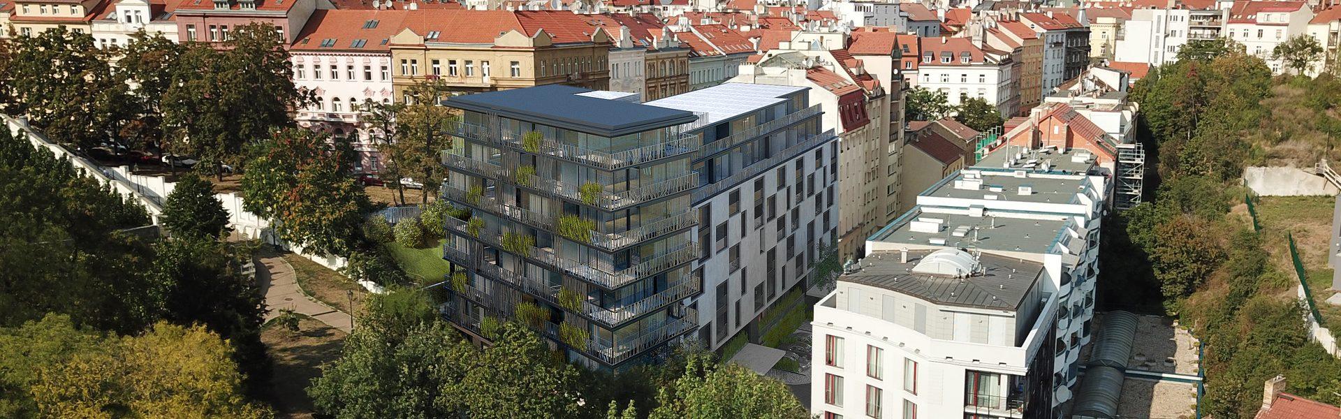 Nová Landhauska Apartment Building