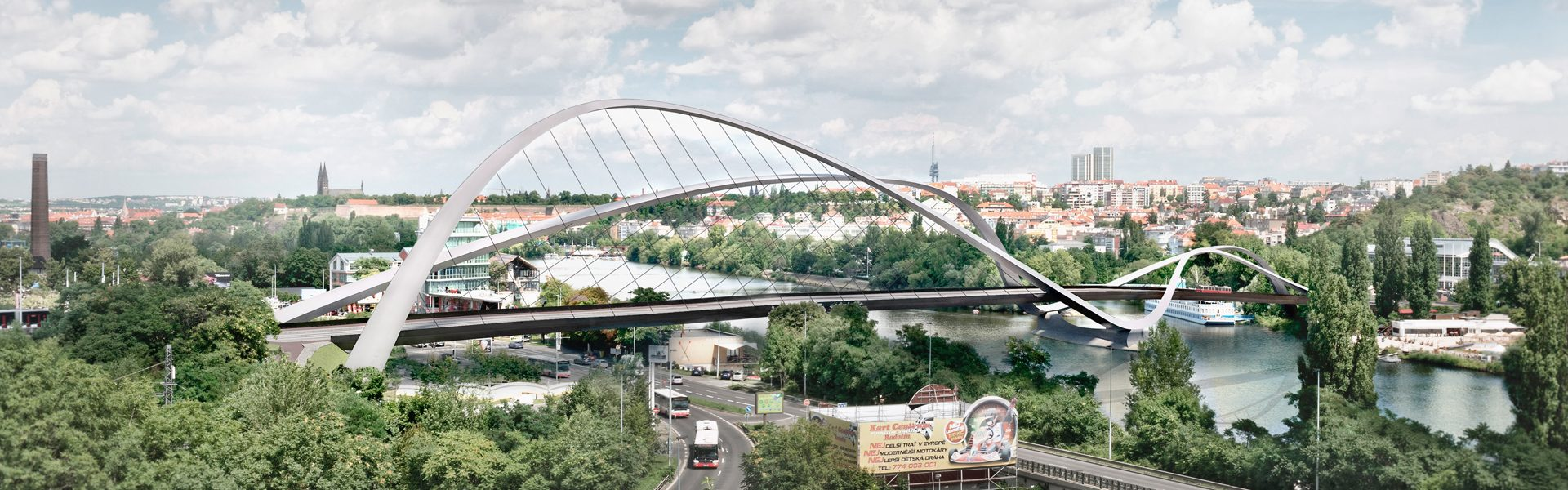 The Dvorecký Bridge