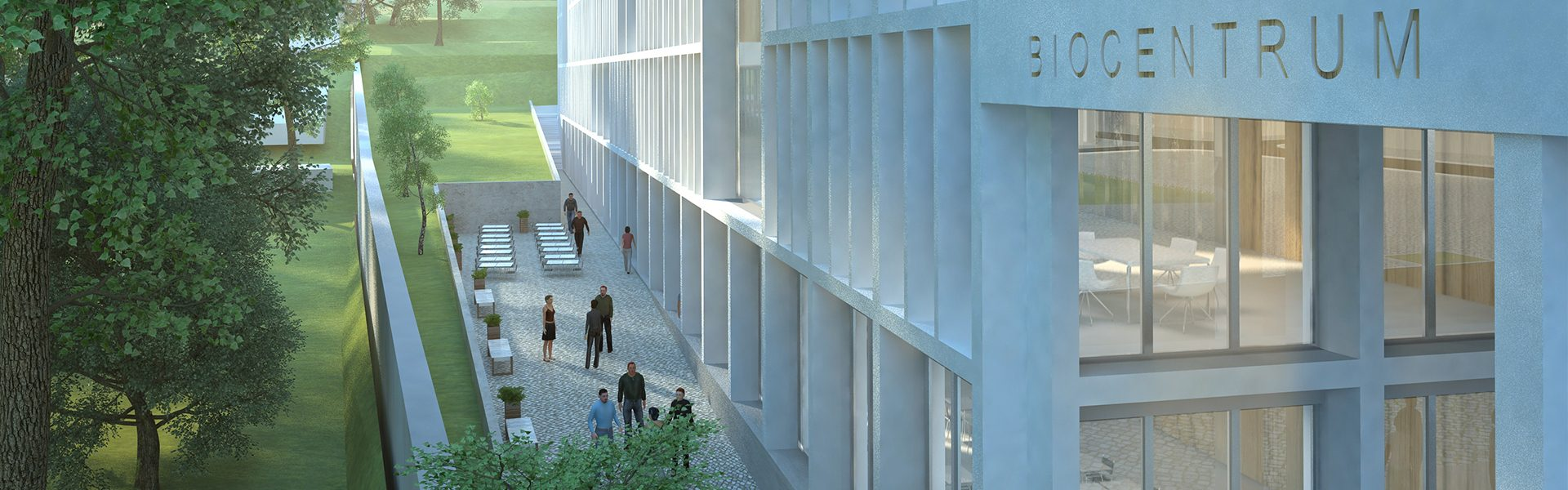 Biocentrum a Globcentrum kampusu Albertov Univerzity Karlovy
