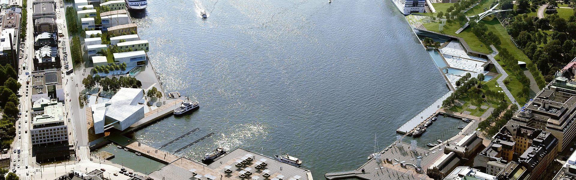 Masterplan jižního přístavu v Helsinkách